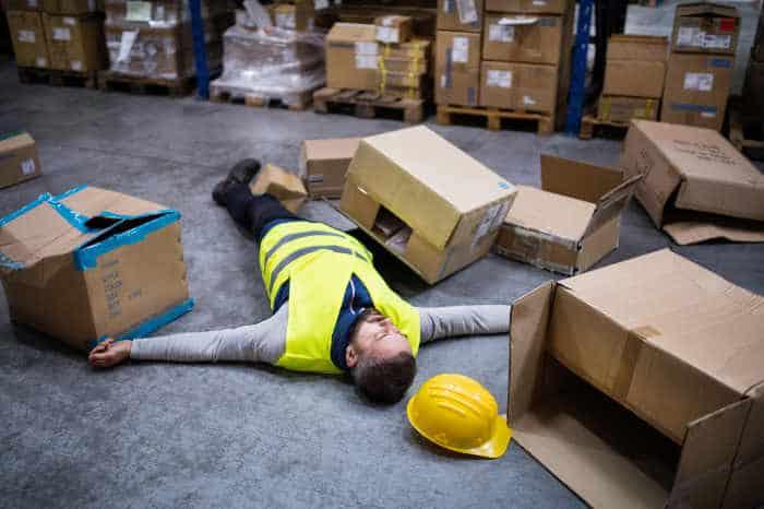Un Accidente Durante El Trabajo